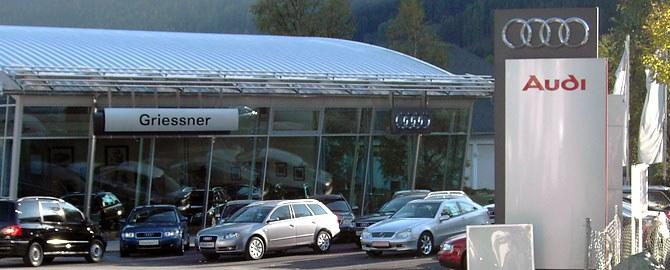 Autohaus Griessner GmbH VW-AUDI-SKODA Händler